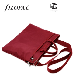 Filofax Microfiber Kézitáska A4 Piros b0cec37b26